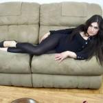 Tranny in Black Leggings 9